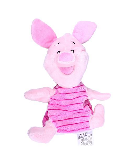 迪士尼 10寸可爱小猪手偶毛绒玩具