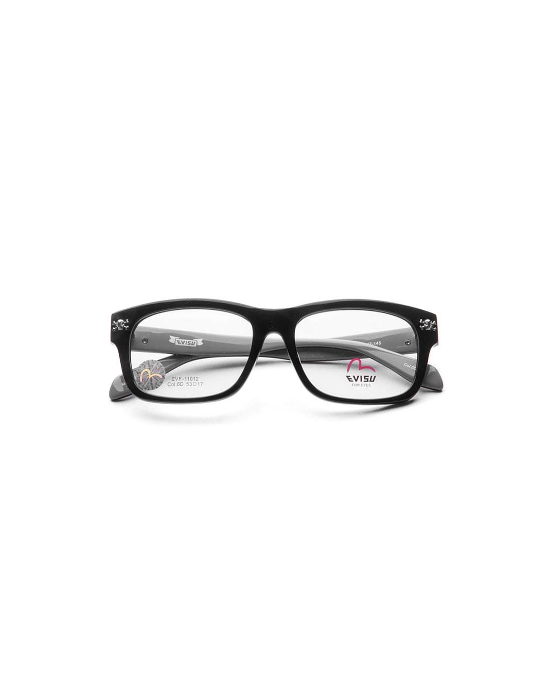 经典边框洋红色全框眼镜