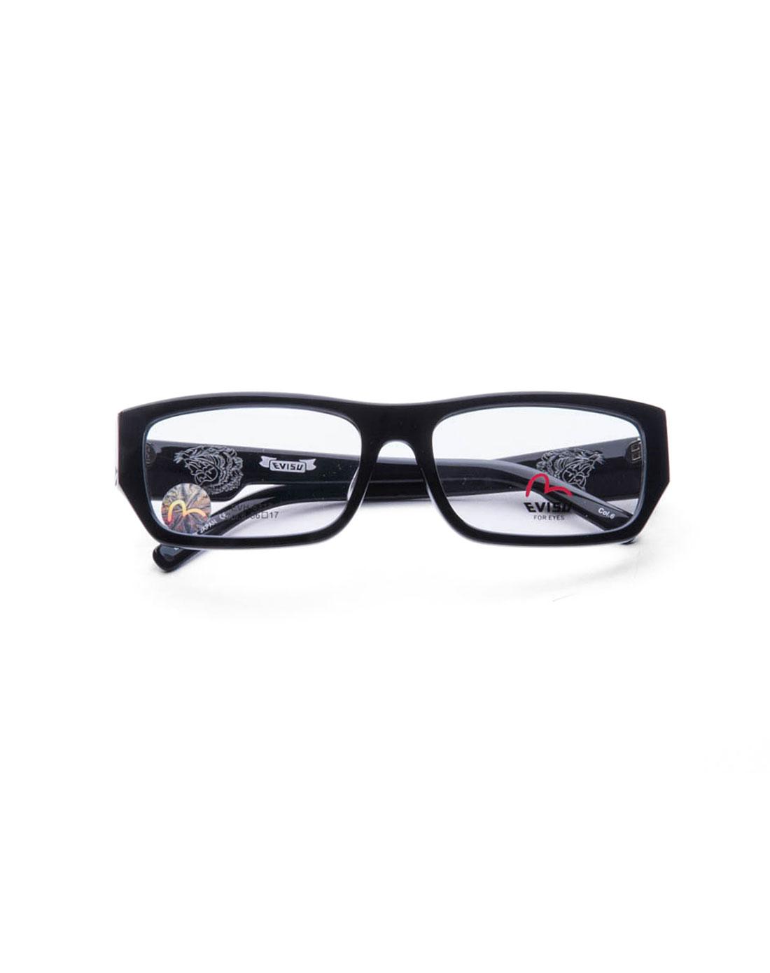 时尚边框黑色全框眼镜