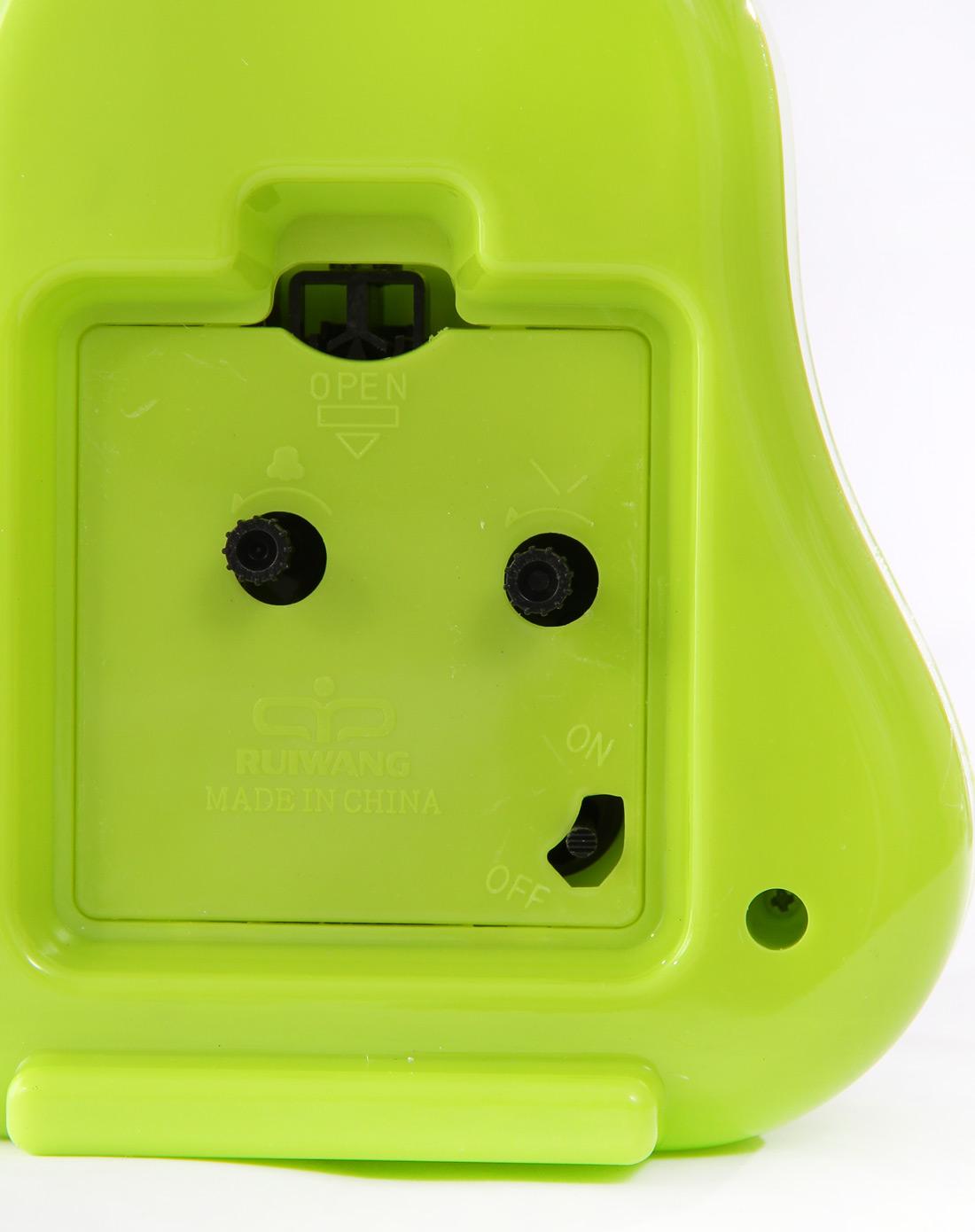 绿色小梨人可爱闹钟
