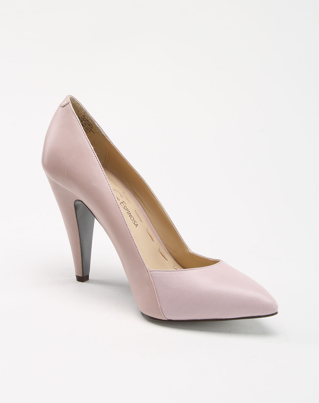espinosa欧美优雅气质淡粉色高跟鞋ce-i26