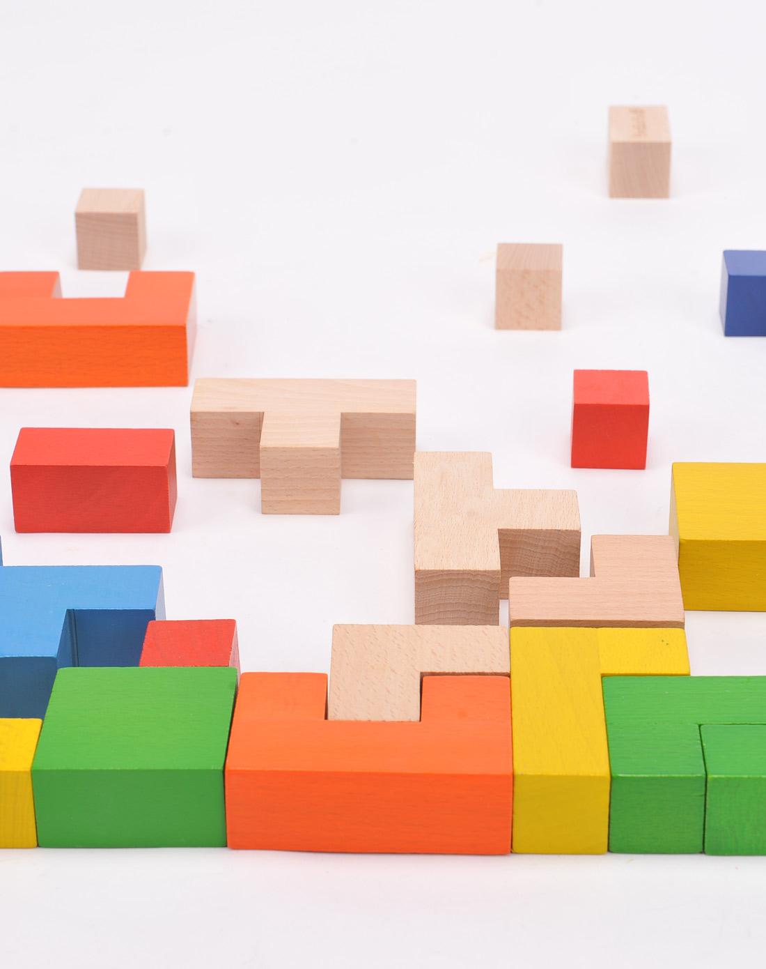 积木拼图序列玩具专场everearth 俄罗斯方块33560