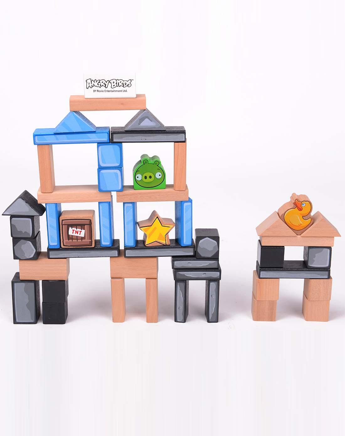 积木房子矢量图