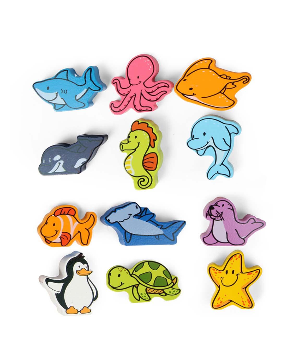 hape 立体海洋动物