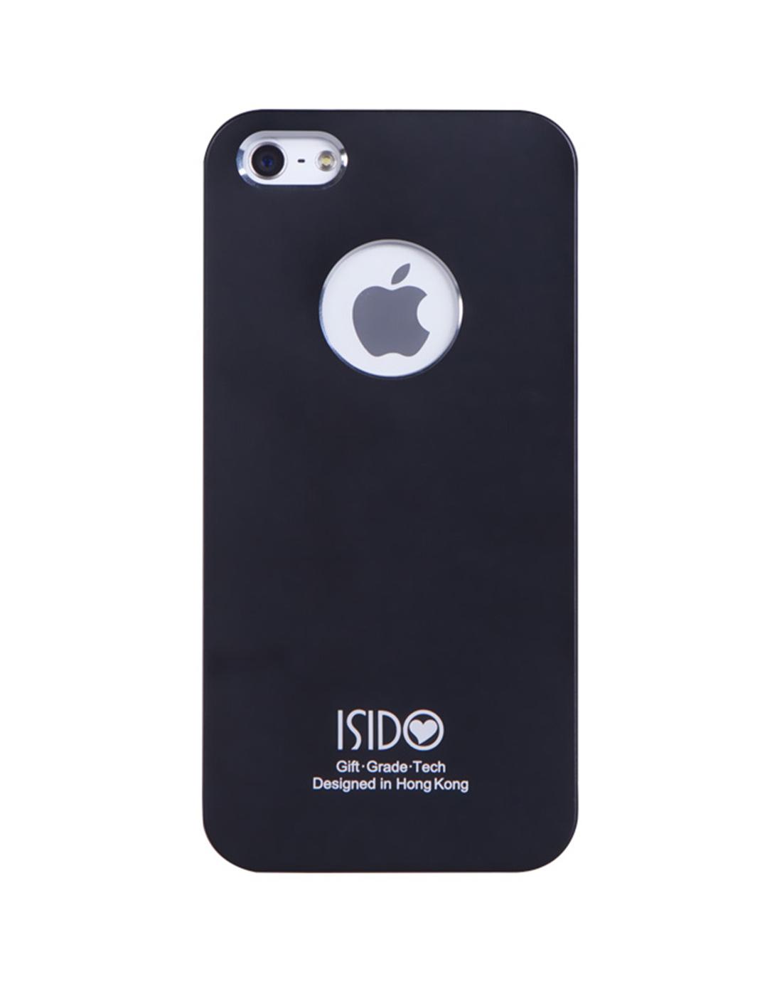苹果5代电镀手机壳(黑色)