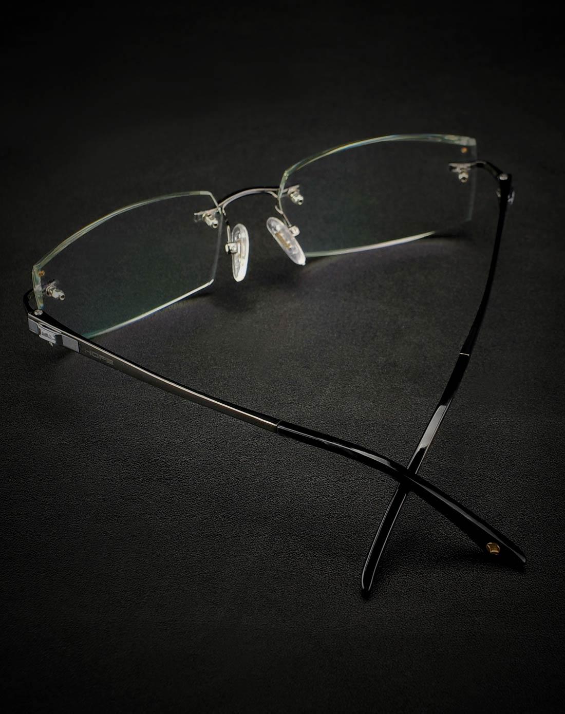 益盾 纯钛施华洛世奇海洋之星钻石切边变色片男款护目镜