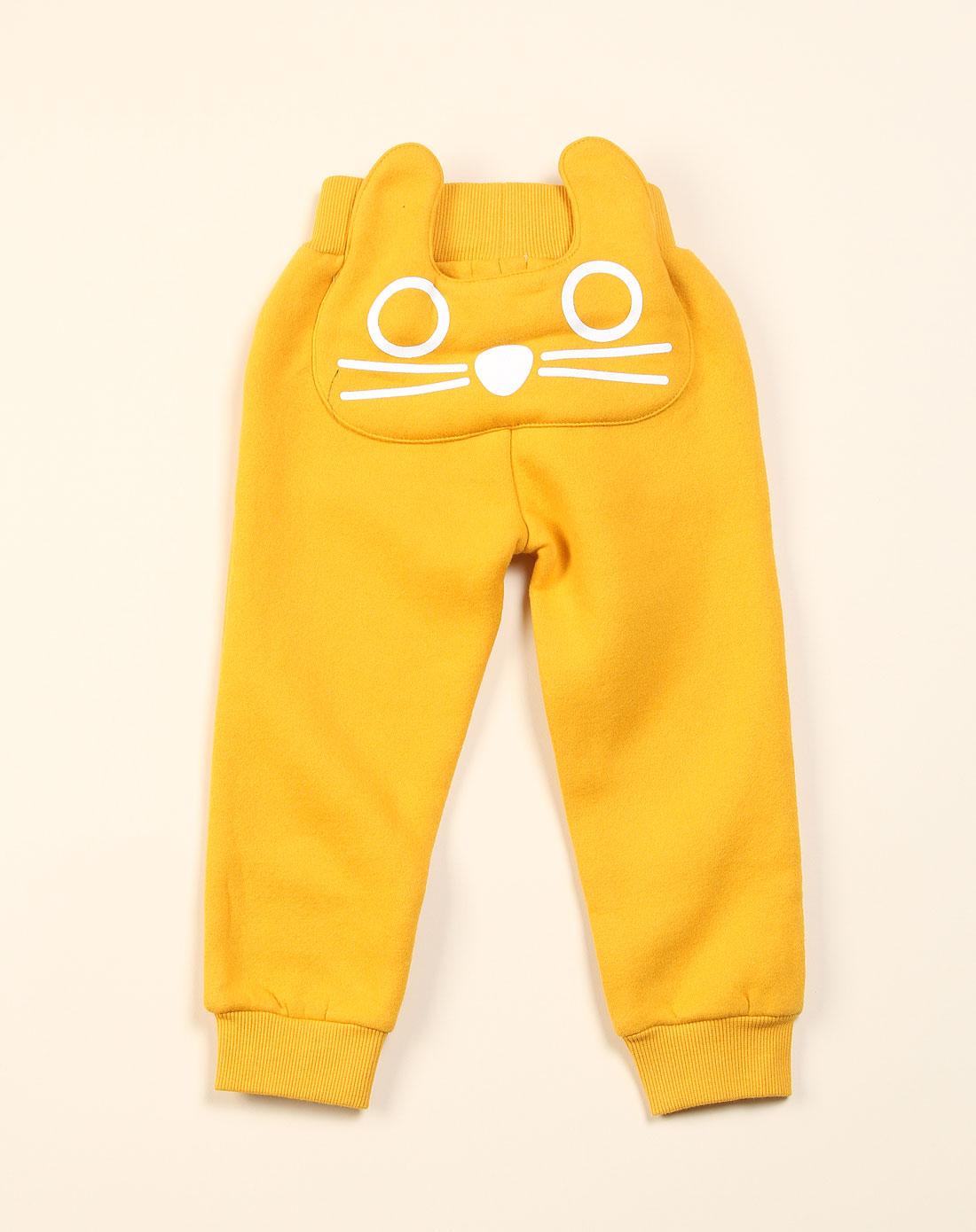 童装手绘效果图裤子