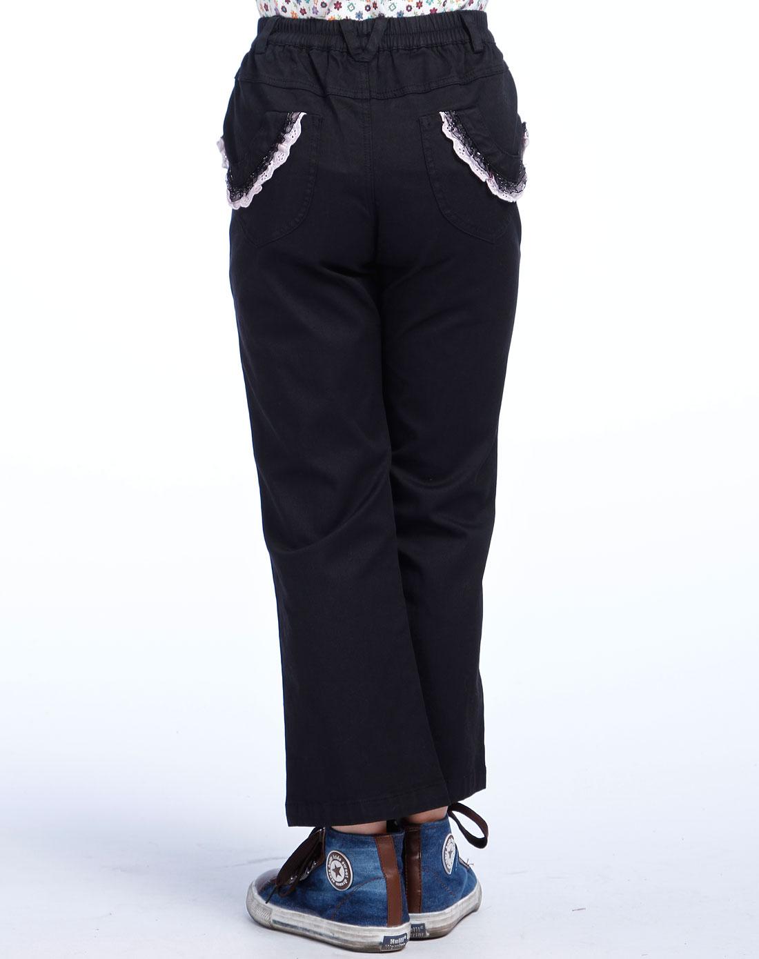 米斯维尼女童黑色裤子fgqs05043-84