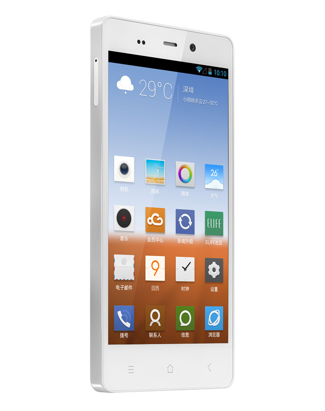gionee/金立 e6超薄大屏3g四核安卓智能手机 送价值188元移动电源