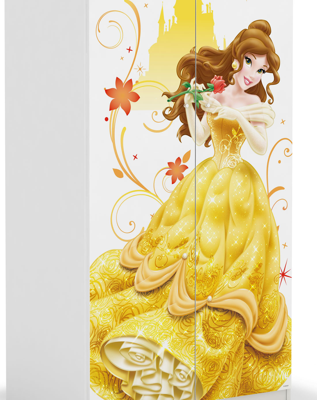 贝儿公主最美的时光 二门衣柜