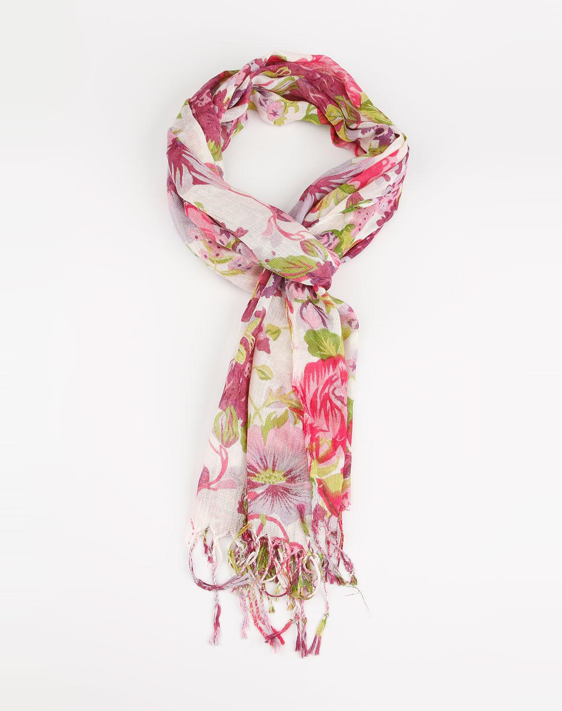 惠粉红_最后约惠-女人我最大专场-粉红/紫红色花瓣个性围巾