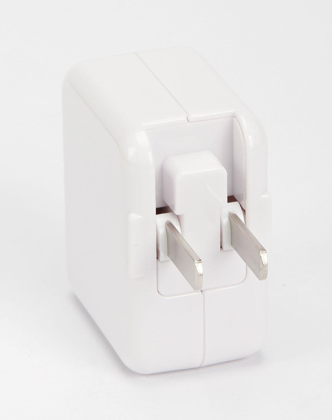 数码家电库存白色ipad充电器6940735406798