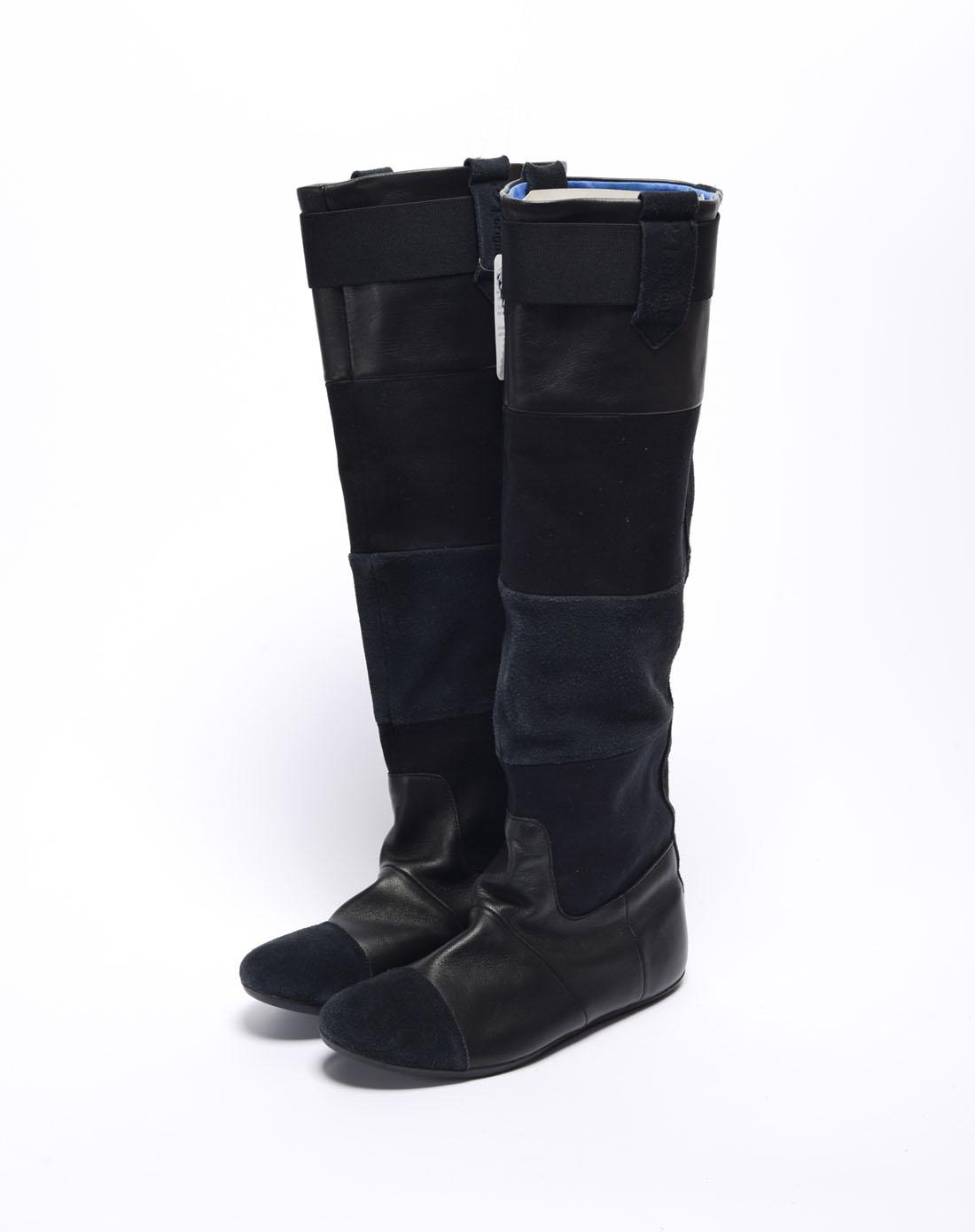 阿迪达斯adidas女鞋专场-女子黑色长靴