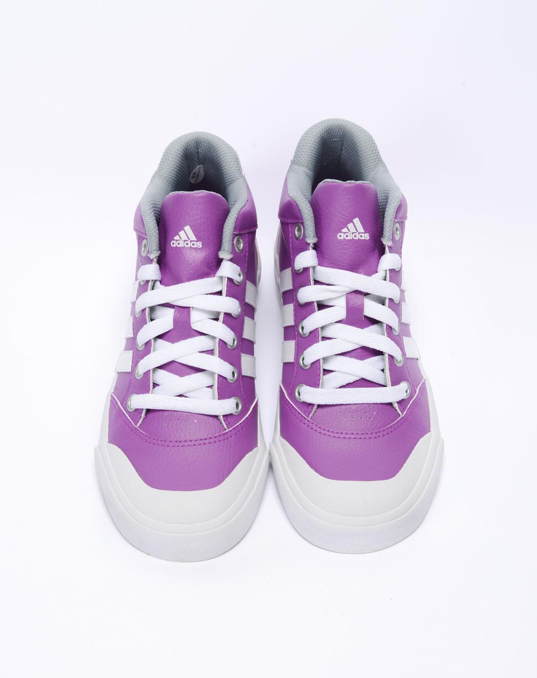 阿迪达斯adidas女鞋专场-女子紫色网球鞋