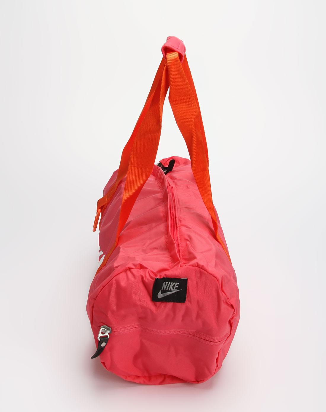 耐克nike女款玫红色时尚单肩包ba4105-687