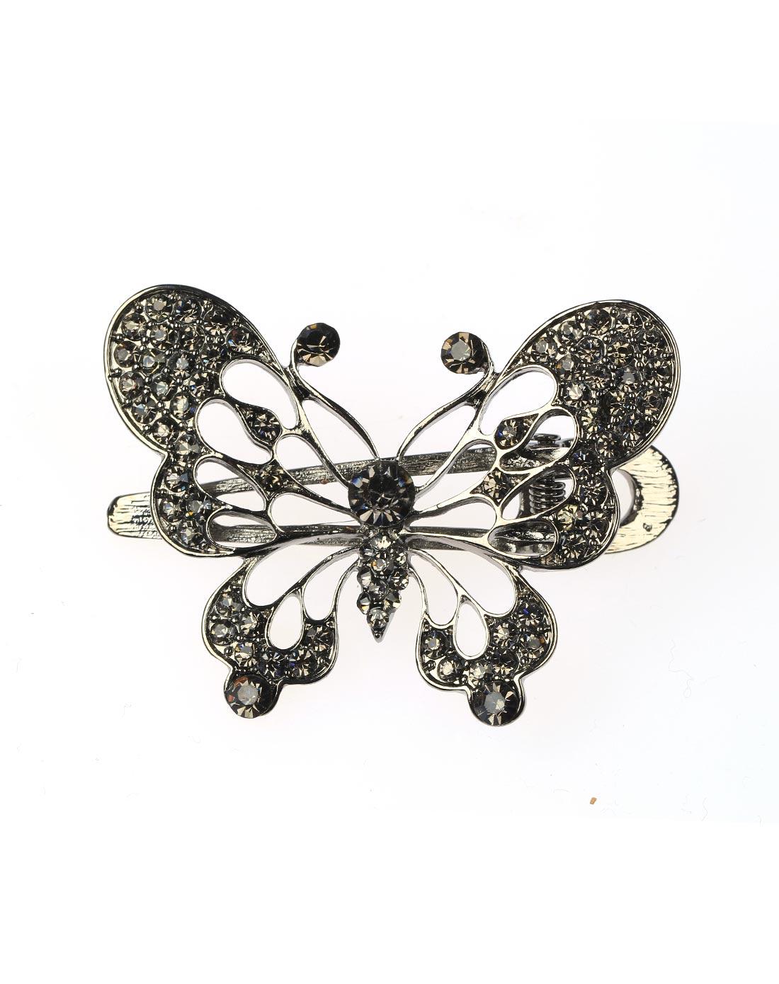 复古镂空蝴蝶发梳夹