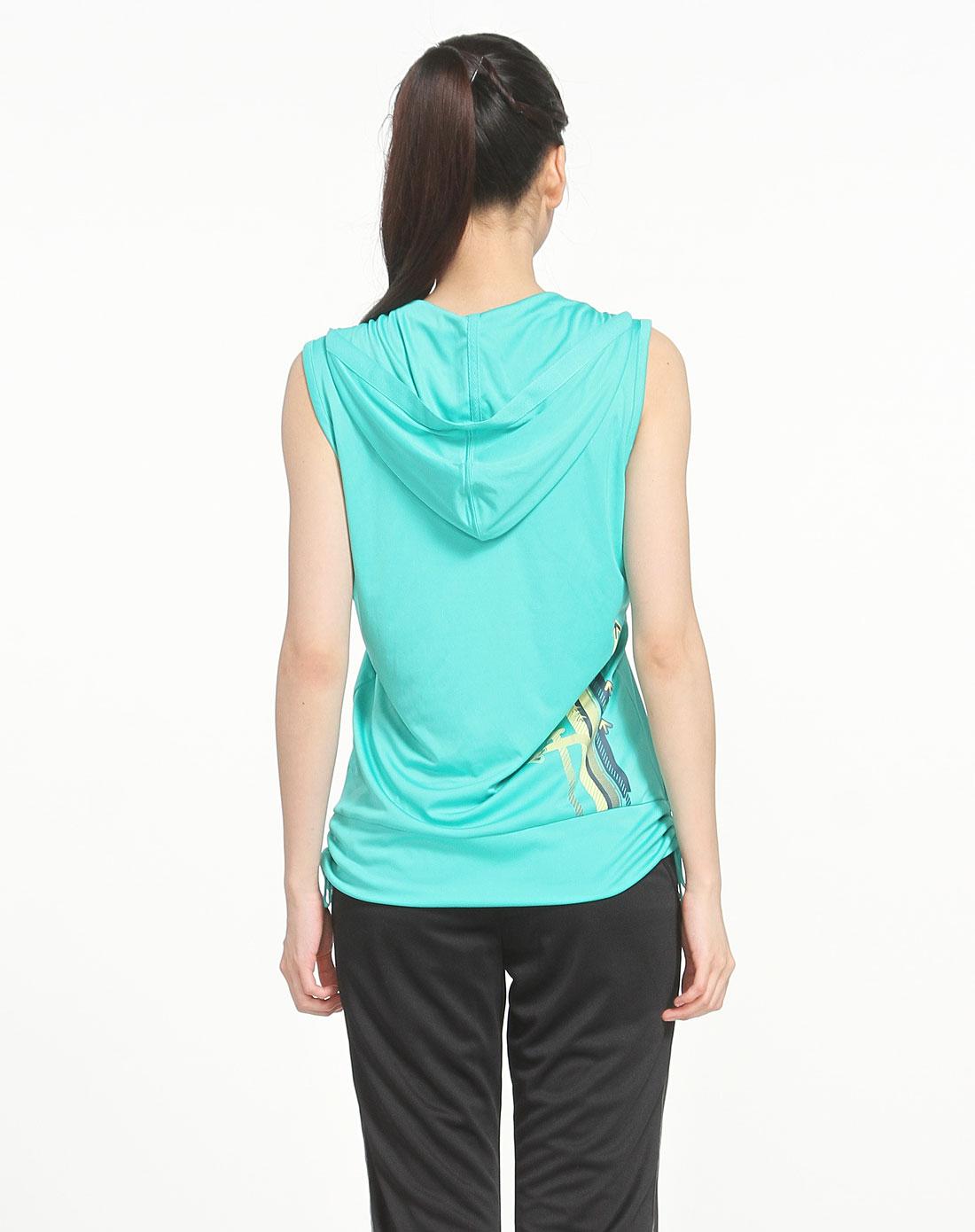 商品名称:女款绿色背心     备注:无配件     材质