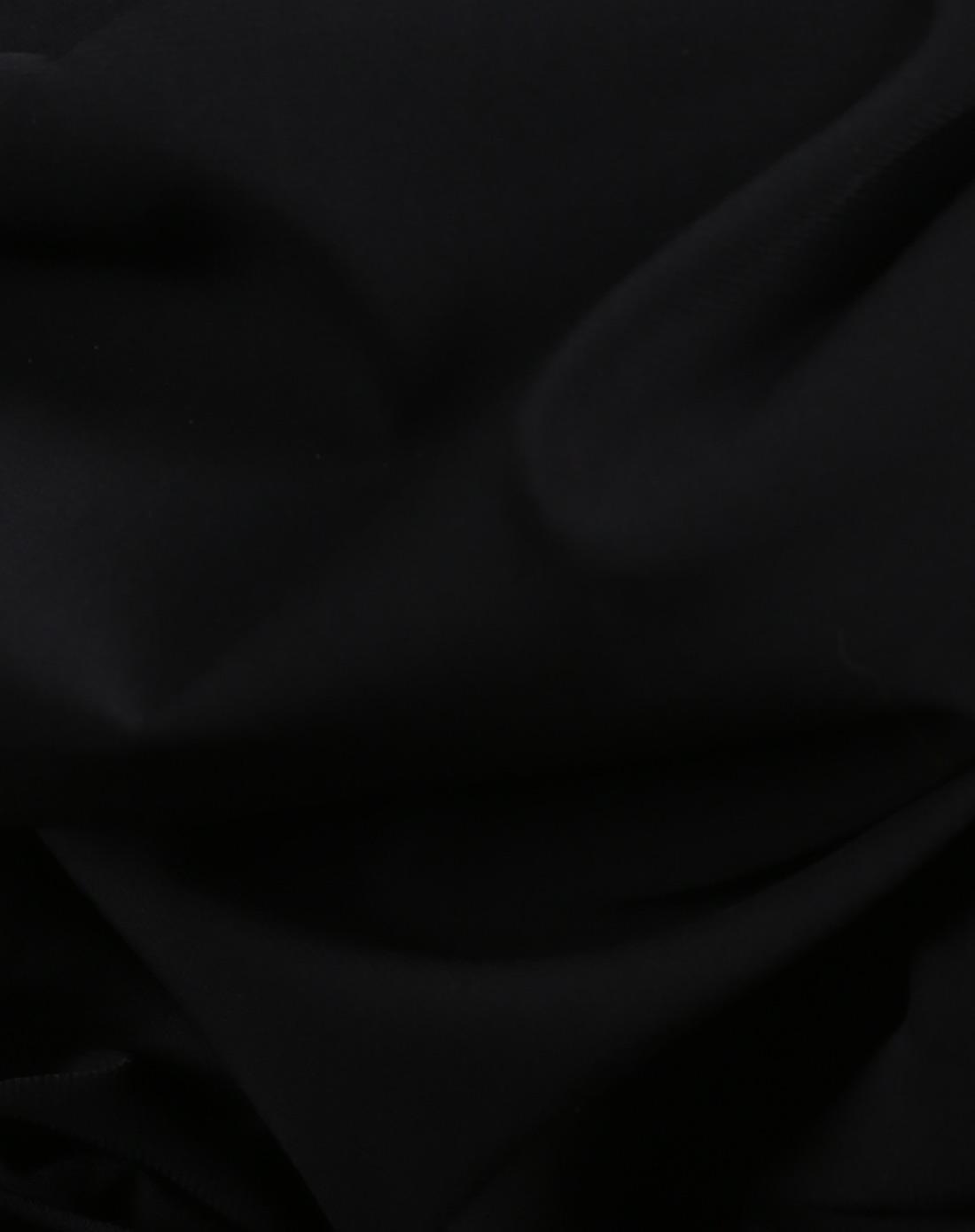 黑色独特纹理百搭连衣裙