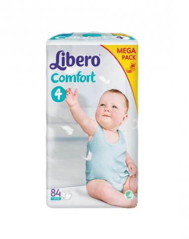 丽贝乐 / 婴儿纸尿裤4号超大包装(M)84片 ¥135
