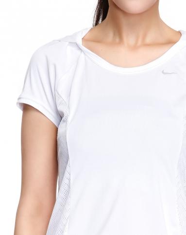 瑜伽特惠专场-耐克nike 女子白色短袖t恤