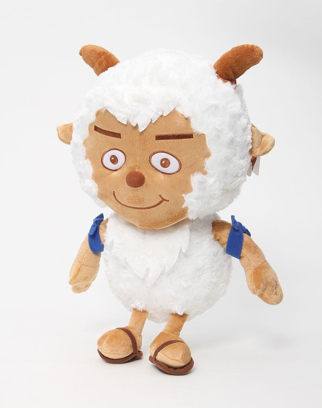 喜羊羊与灰太狼 14寸白色经典款沸羊羊