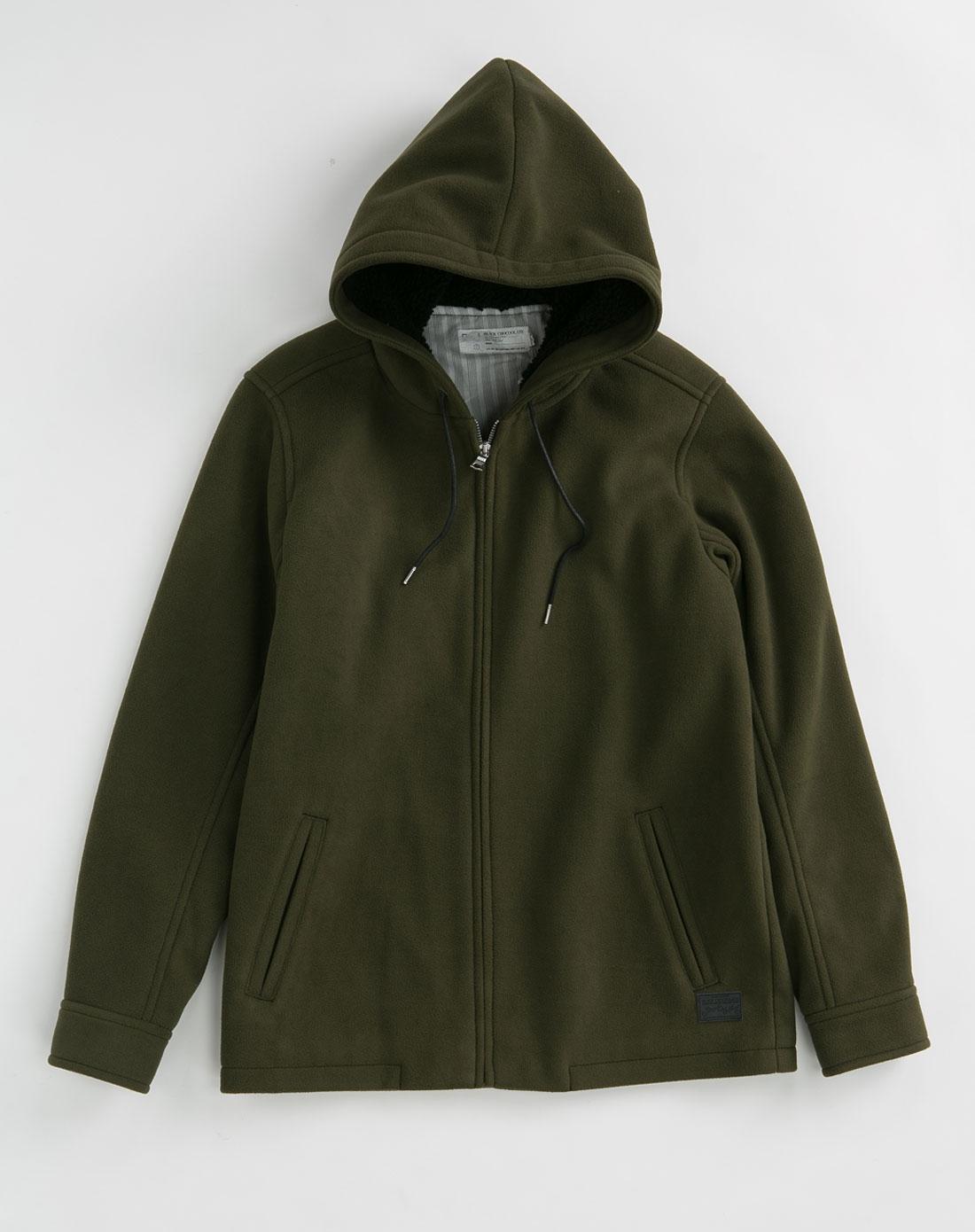 男装外套欹o#_chocoolate 男装深绿色外套