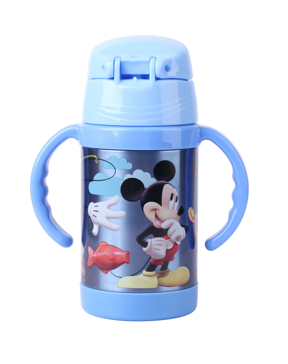 学生文具爆款专场迪士尼儿童吸管杯gxmn-5671b