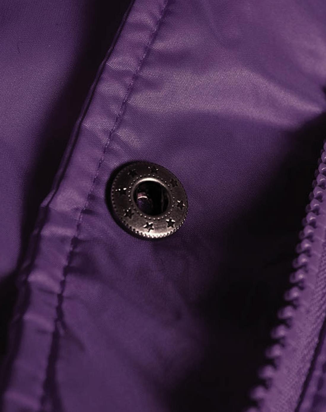 蓝色天空mbsky深紫蓝色个性锈章长袖羽绒服0805106