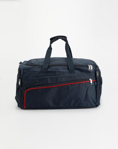 男款深蓝旅行袋