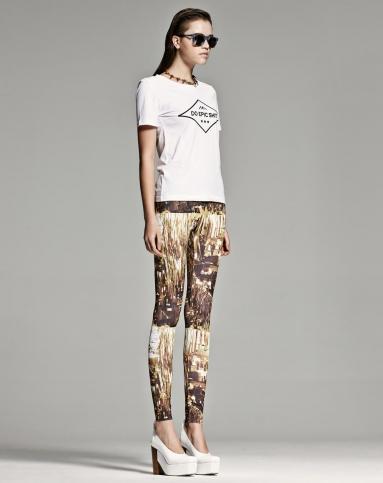 inxx国际高街品牌印花图案白色字母t恤aq3301053856