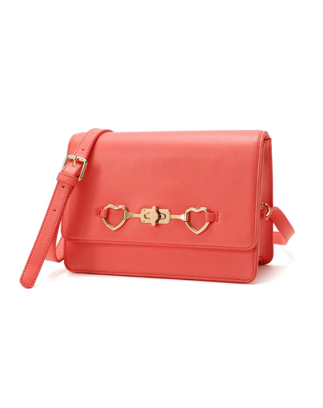 哈森harson集团品牌女鞋卡文cover2014年新款桃粉色