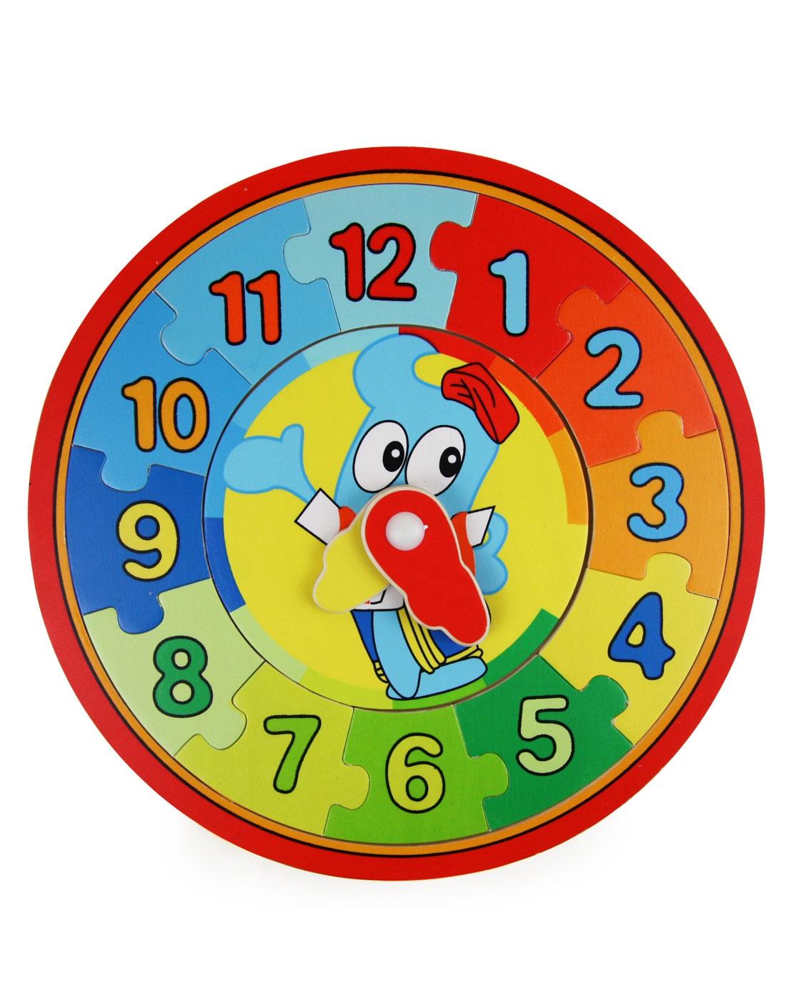 海绵宝宝儿童用品专场智立方世博会海宝时钟拼图玩具p