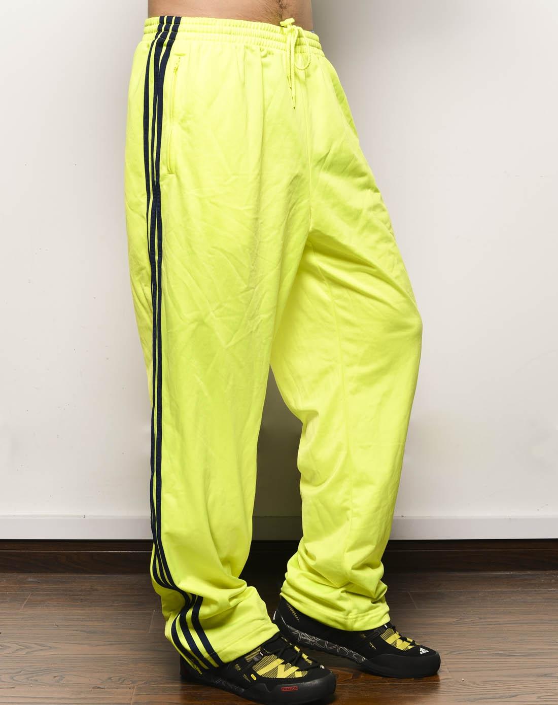 阿迪达斯adidas男装专场-男子荧光绿长裤