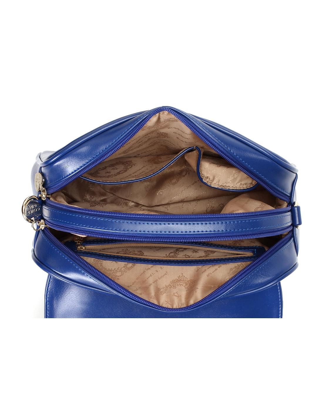 哈森harson集团品牌女鞋卡文cover2014新款蓝色人造