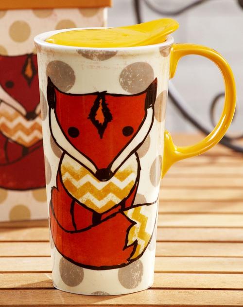 evergreen 手绘陶瓷盖 印花修身马克杯(礼盒装),星巴克全球同款发售
