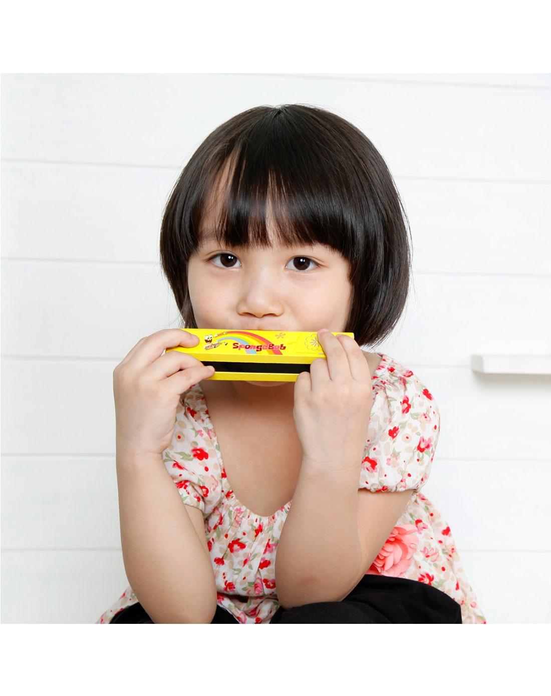 特宝儿 海绵宝宝乐器玩具造型口琴