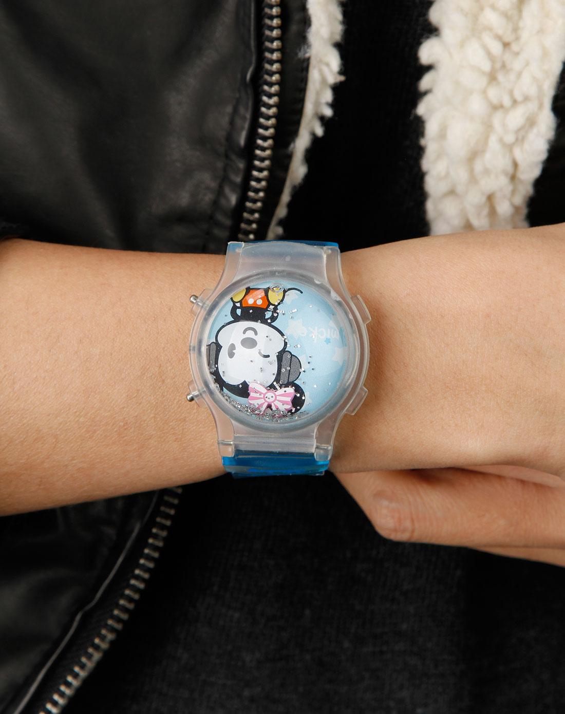 蒙矇兔&迪士尼儿童蓝色手表dc-7015l