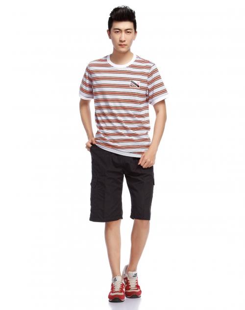 条纹t恤男短袖价格,条纹t恤男短袖 比价导购 ,条纹t恤男短袖怎么样