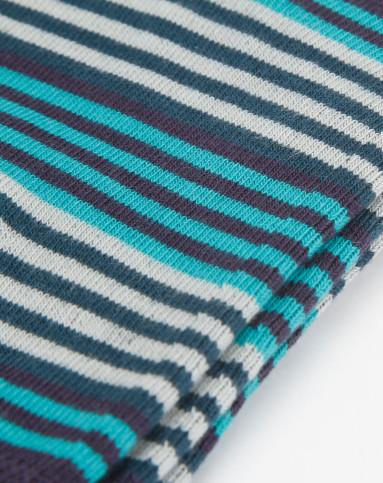 男款深紫/绿/墨绿色条纹长袜