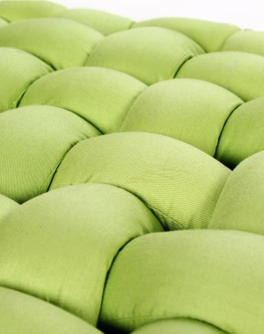 手工编织坐垫-绿色45*45cm
