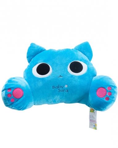 迷彤屋可爱蓝猫腰靠
