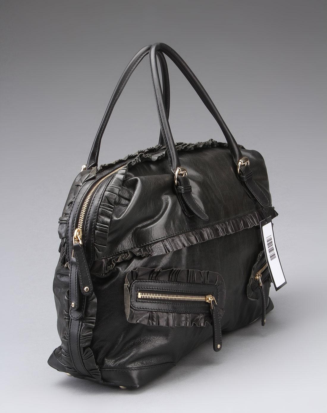 gucci 女士黑色手提包