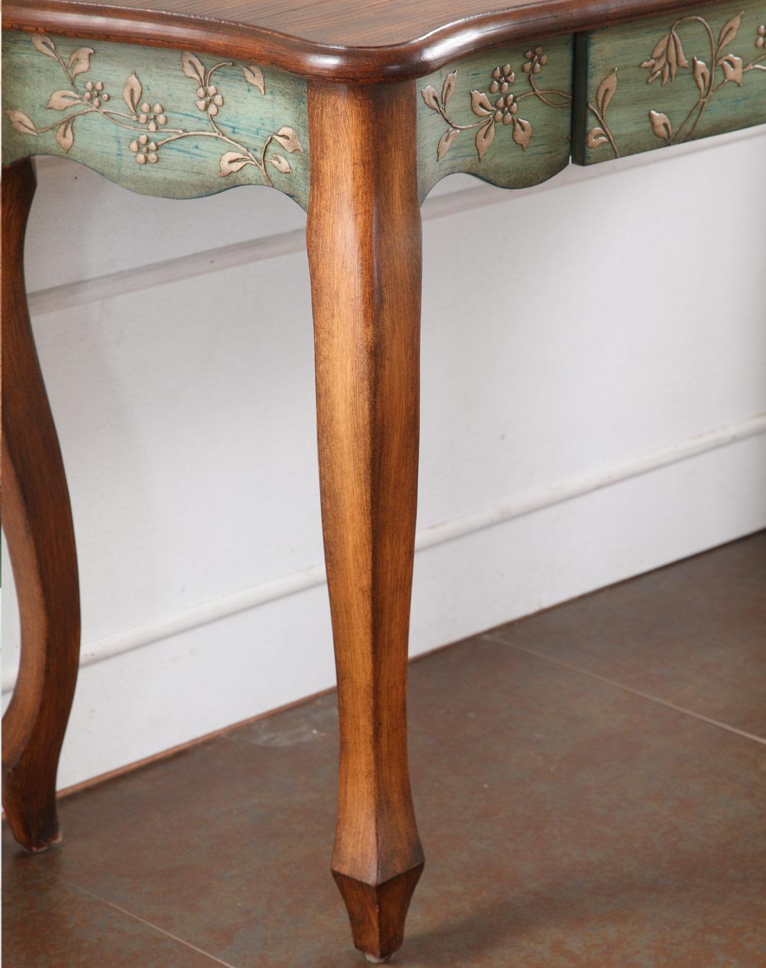 欧式古典手绘玄关桌