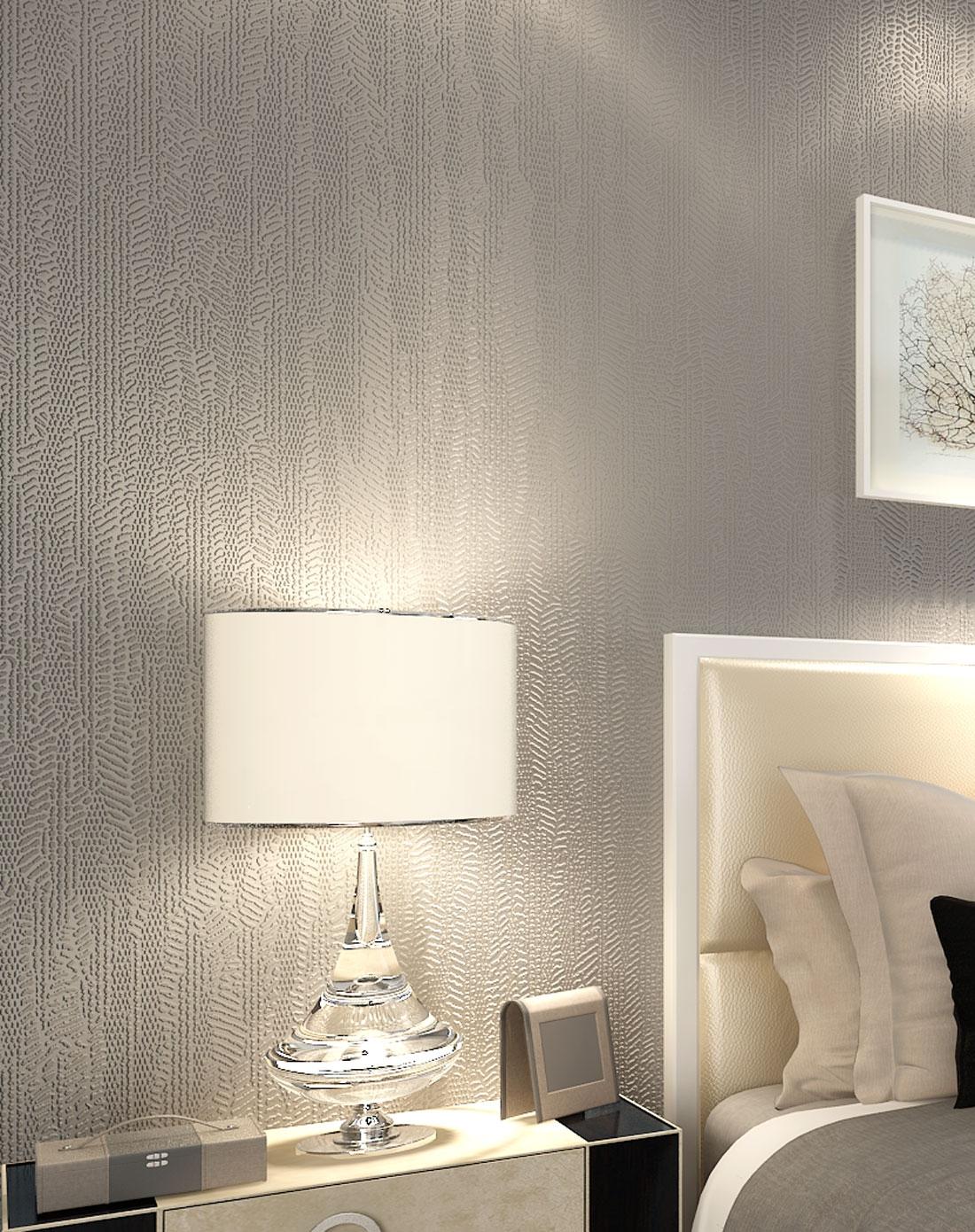客厅纯色壁纸搭配图片