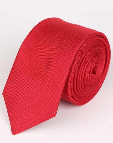红色米字暗纹领带