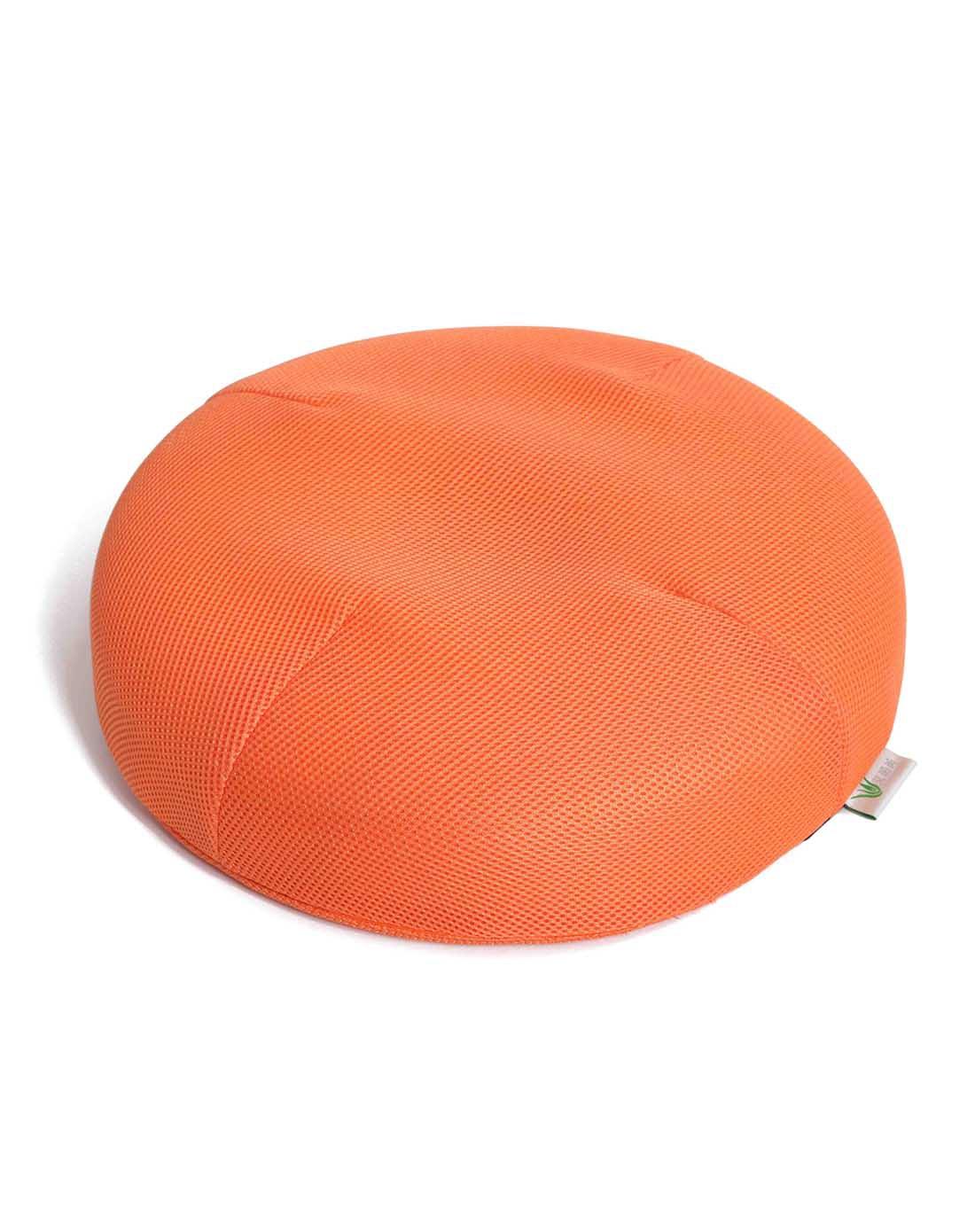 38*38*8cm3d网布圆形坐垫(橘色)