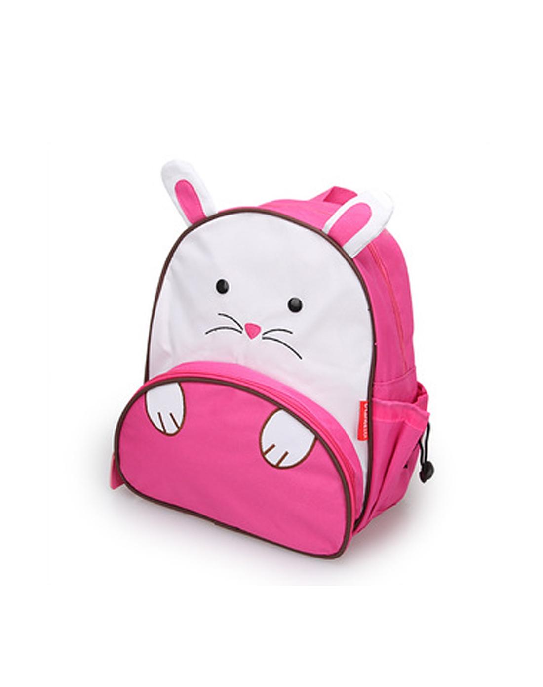 > 可爱儿童双肩背卡通书包(小粉鼠)