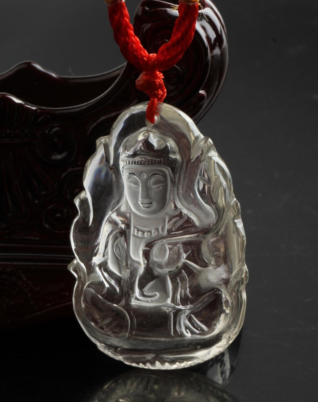 水晶雕 - 观音像    2 - h_x_y_123456 - 何晓昱的艺术博客