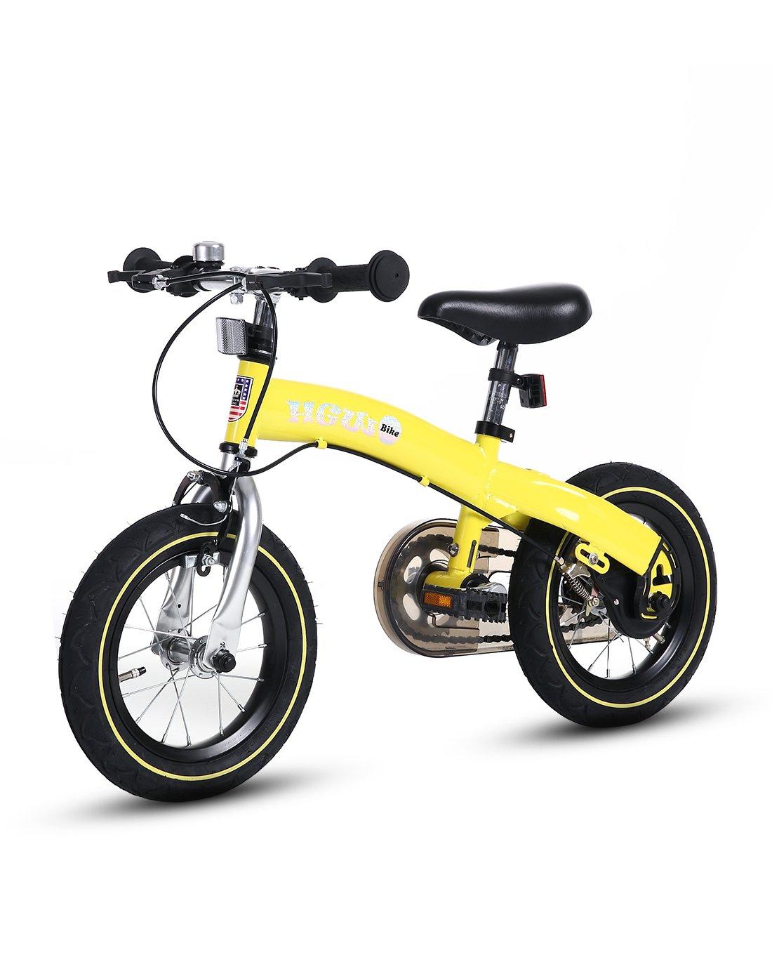 皇冠王儿童学步自行车