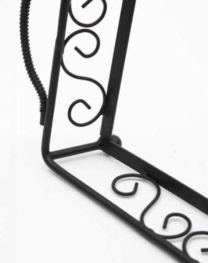 小号美式铁艺立体雕花托盘架(不含玻璃板)